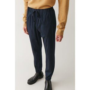 COS Elasticated Cuffed Cotton Trousers Jogger Pant